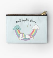 Unicorn - don't forget to dream  Studio Pouch