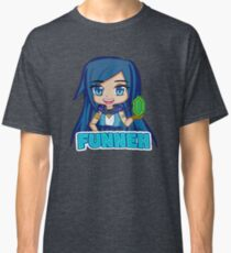 Blue haired Manga Funneh Classic T-Shirt