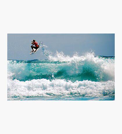 LONG BEACH SURFER Photographic Print