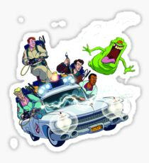 The Real Ghostbusters Sticker