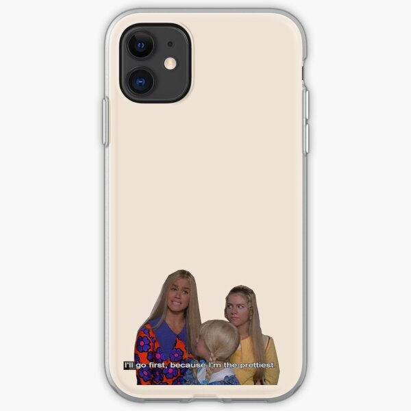 the brady bunch - i'll go first because i'm the prettiest iPhone Soft Case
