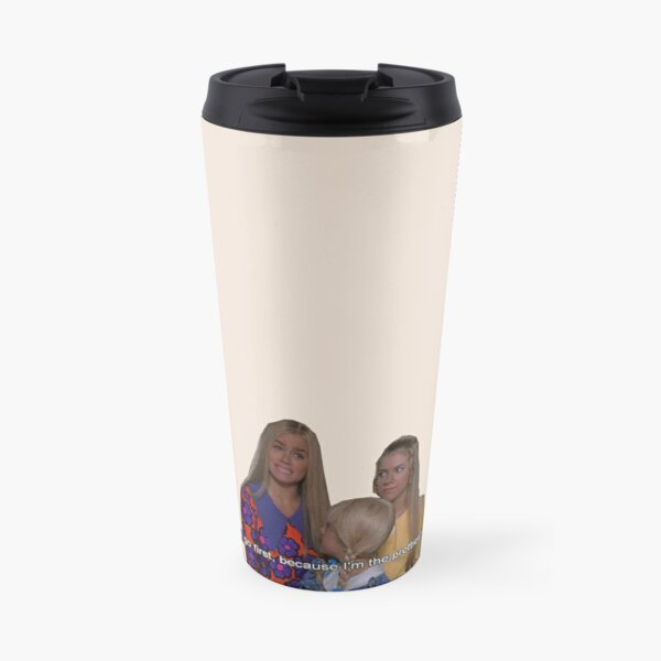 the brady bunch - i'll go first because i'm the prettiest Travel Mug