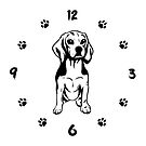Spaniel Dog Owner Wall Clock by KsuAnn
