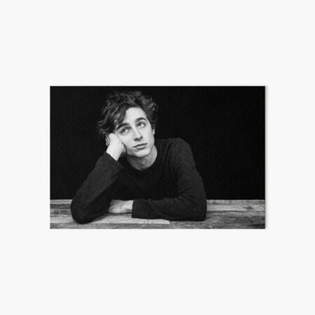 timothee chalamet Art Board Print