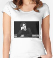 timothee chalamet Fitted Scoop T-Shirt