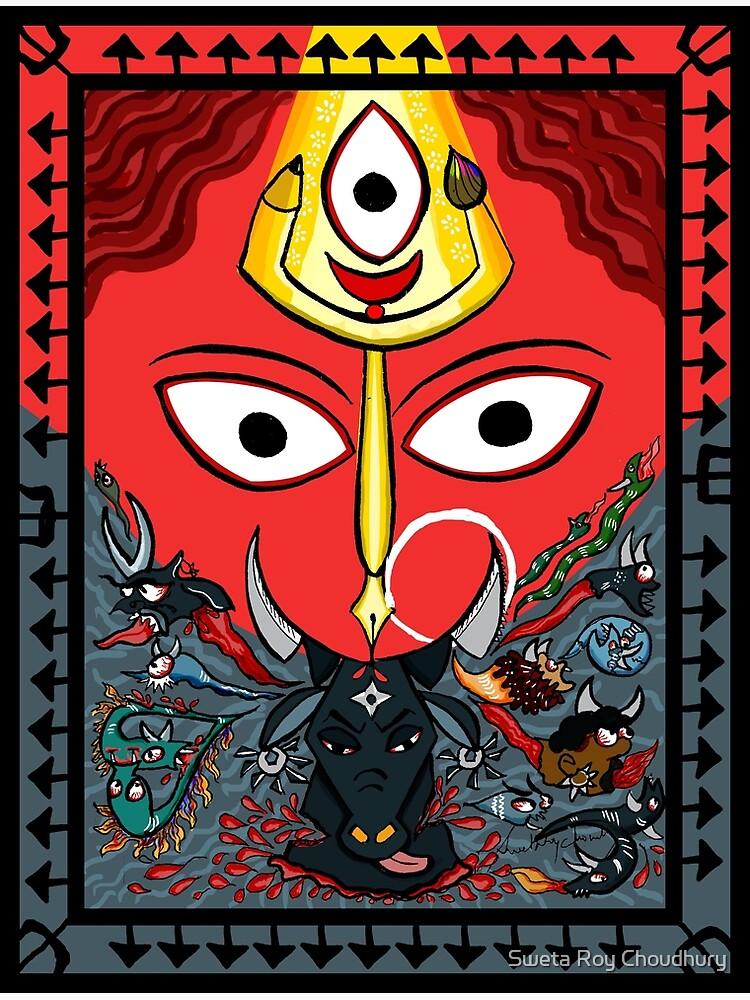 Devi Durga by swetarcartshop