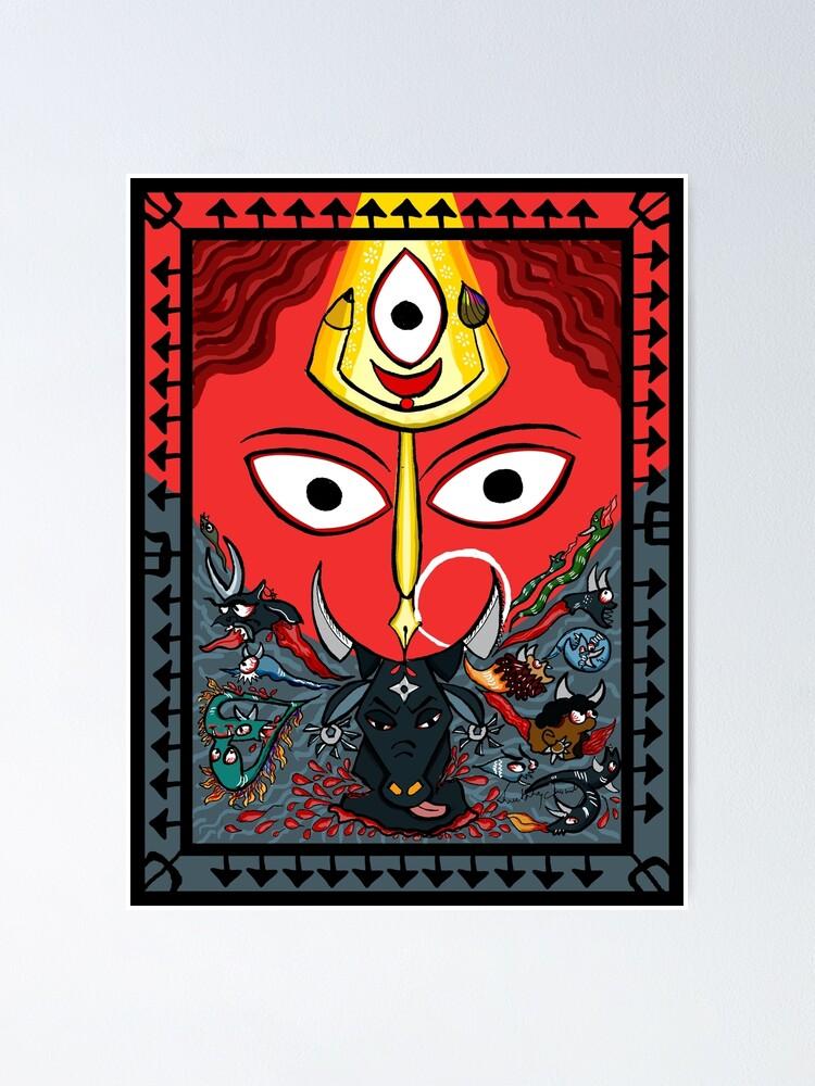 Alternate view of Devi Durga Poster