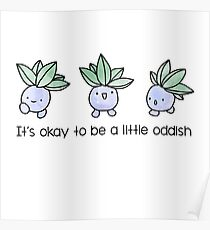 A Little Oddish Poster