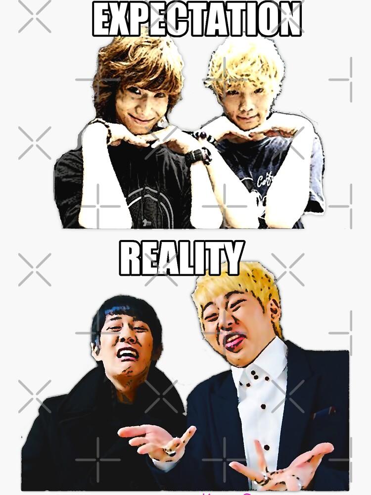 Aegyo VS Derp (Expectation vs Reality) SHINee vs Block B by dubukat