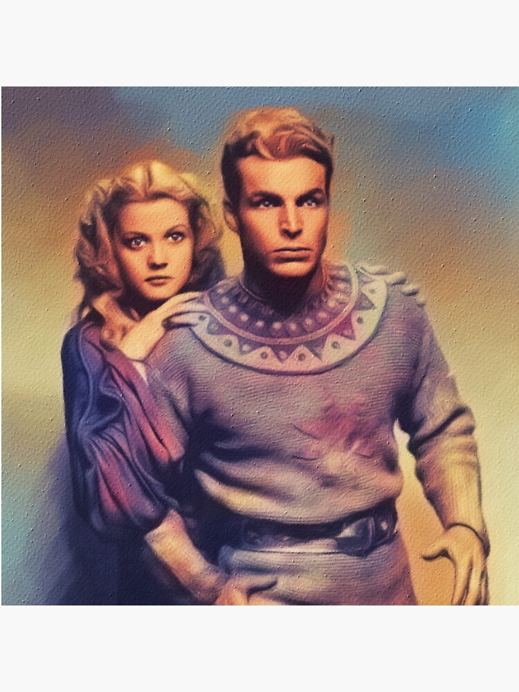 Buster Crabbe and jean Rogers, Flash Gordon by SerpentFilms
