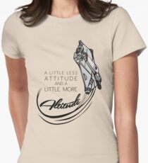 A Little More Altitude Women's Fitted T-Shirt