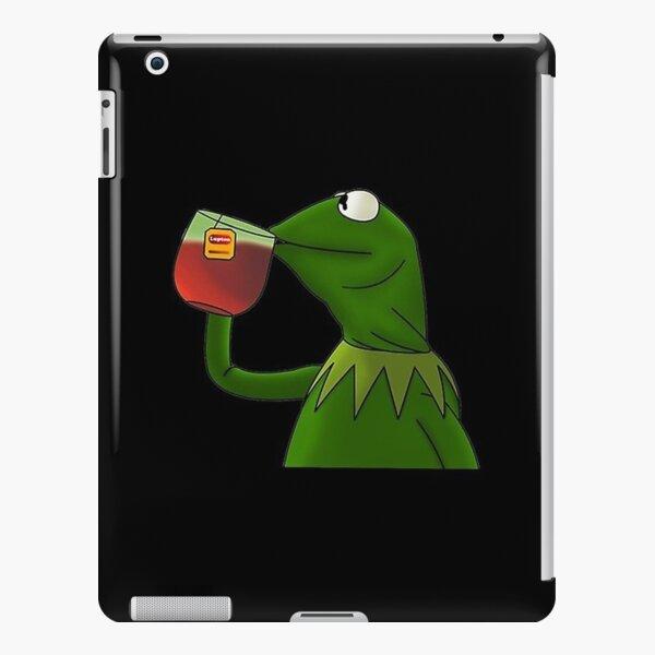 green frog iPad Snap Case