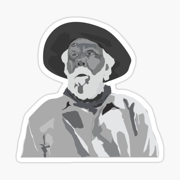 pans for gold - prospector  Sticker