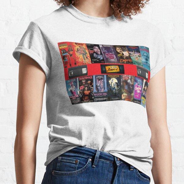 VHS Nasties Classic T-Shirt