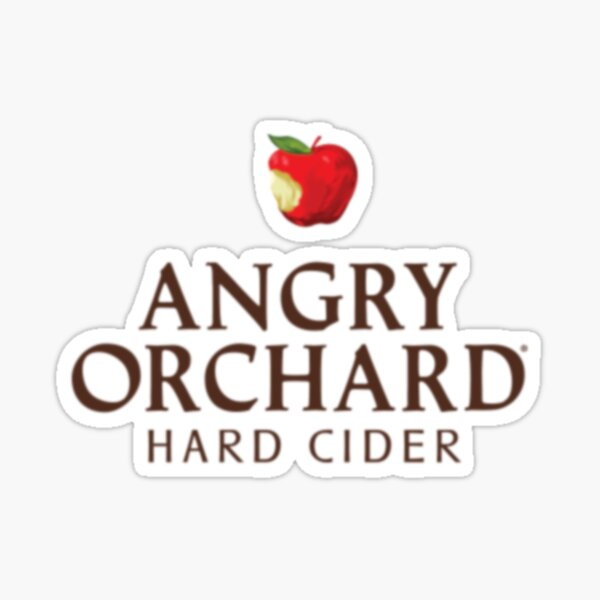 Angry Orchard Logo Sticker