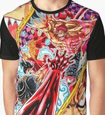 Luffy vs Katakuri - Ein Stück Grafik T-Shirt