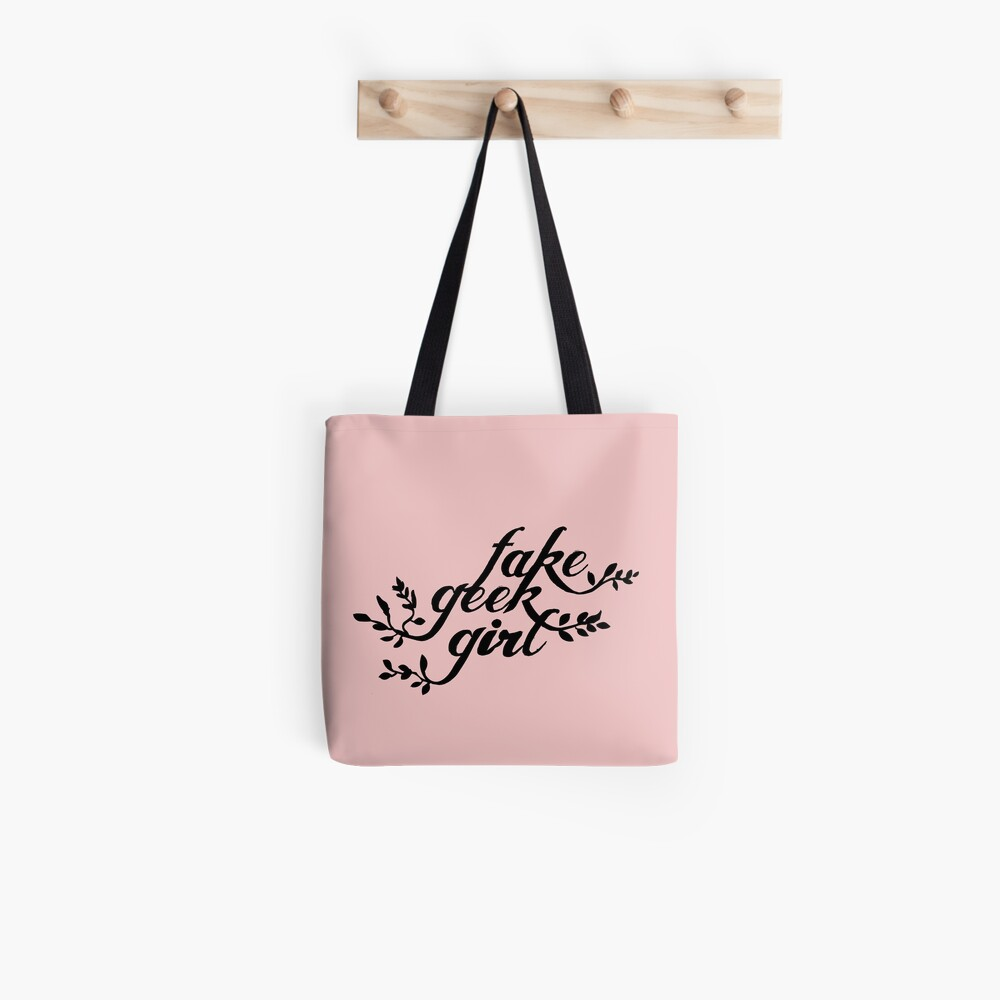 Fake Geek Girl Tote Bag