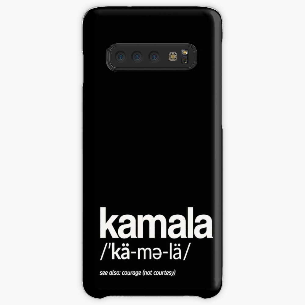 Kamala Harris 2020 Aussprache und Definition Hülle & Klebefolie für Samsung Galaxy