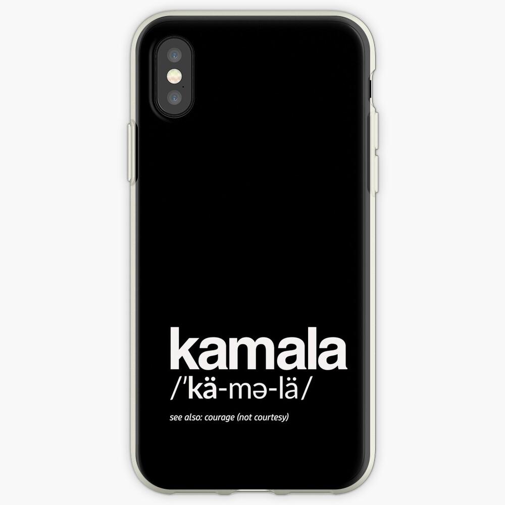 Kamala Harris 2020 Aussprache und Definition iPhone-Hülle & Cover