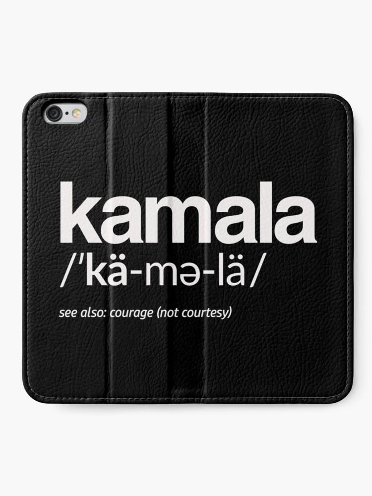 Alternative Ansicht von Kamala Harris 2020 Aussprache und Definition iPhone Flip-Case