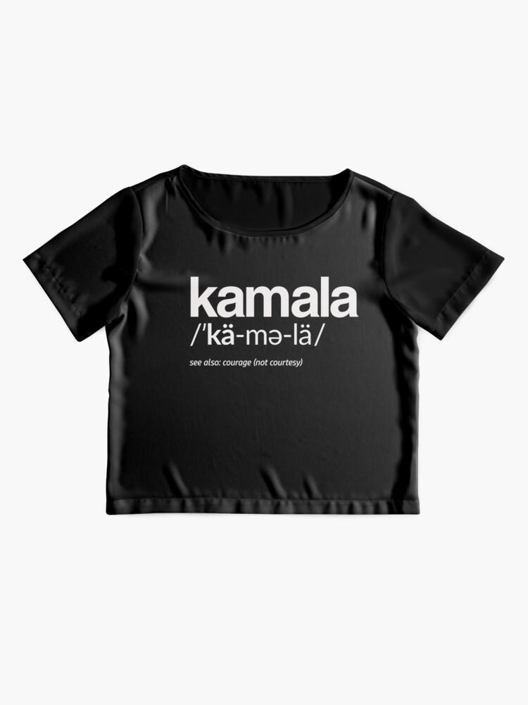 Alternative Ansicht von Kamala Harris 2020 Aussprache und Definition Chiffon Top
