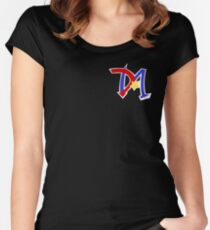 Yu-Gi-Oh GX - Duel Academy Logo Women's Fitted Scoop T-Shirt