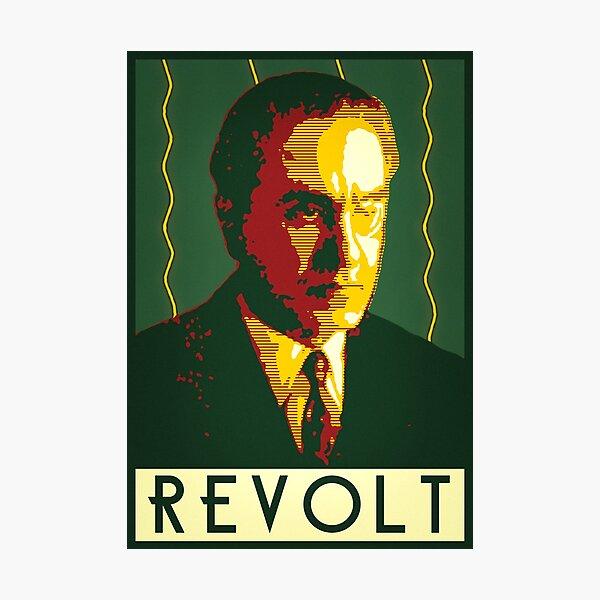 Julius Evola REVOLT Graphic Photographic Print