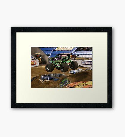 Monster Jam - Grave Digger 2010 Framed Print