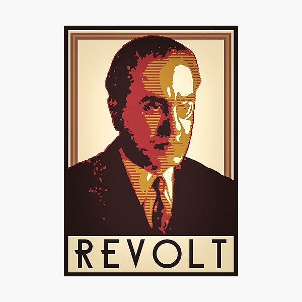 Julius Evola REVOLT Graphic 2 Photographic Print