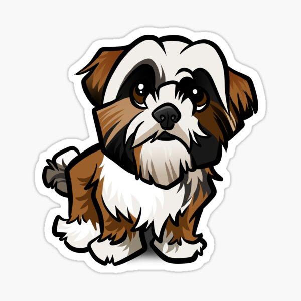 Shih Tzu Sticker