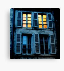 What light through yonder window breaks? Canvas Print