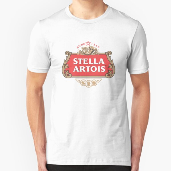 Dont Forget Drink Stella Artois Slim Fit T-Shirt