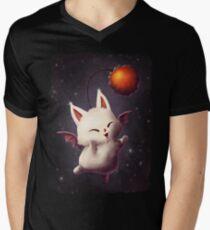 Mewgle T-shirt col V homme