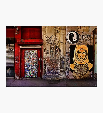 West Village Wall, New York City Photographic Print