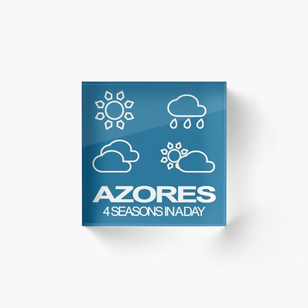 Azores - 4seasons in a day Acrylic Block