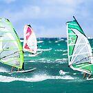 Maui Windsurfing by Jim Stiles