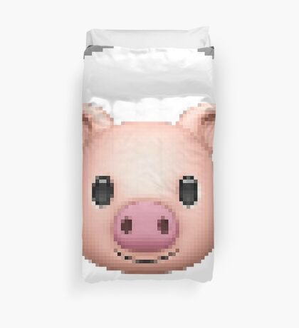 emotipig (emojipig) Duvet Cover