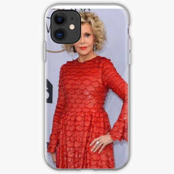 Jane Fonda  iPhone Soft Case