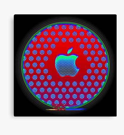 Appl. A12 Q-Core by RootCat Canvas Print