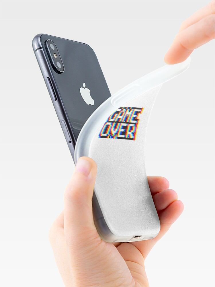 Coque iPhone ''jeu terminé': autre vue