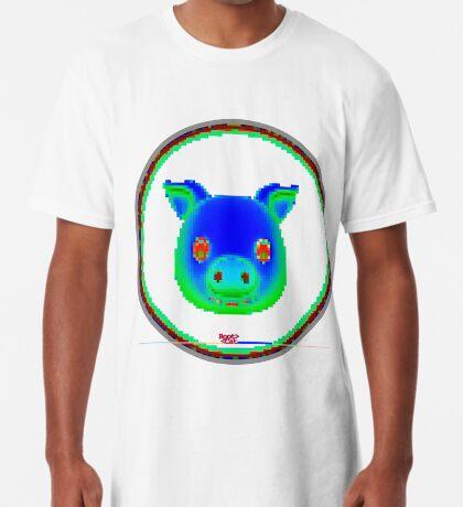 emotipig (emojipig) 3 by RootCat Long T-Shirt