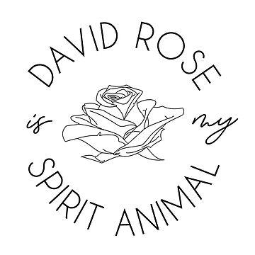 David Rose ist mein Geistertier von kjanedesigns