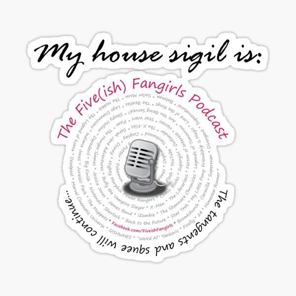 House sigil Sticker