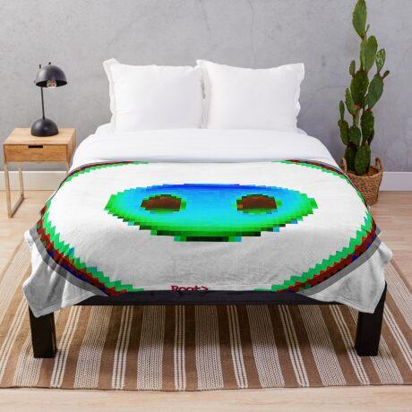 emotipiggyplug (emojipiggyplug) VI Throw Blanket