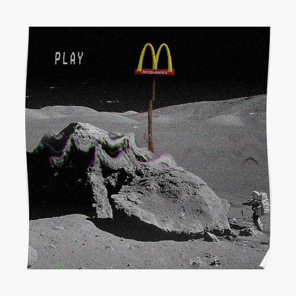 Moon Mcdonalds Poster