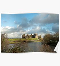 Caerphilly Castle Poster
