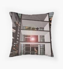 Life beyond addictive consumerism  Throw Pillow