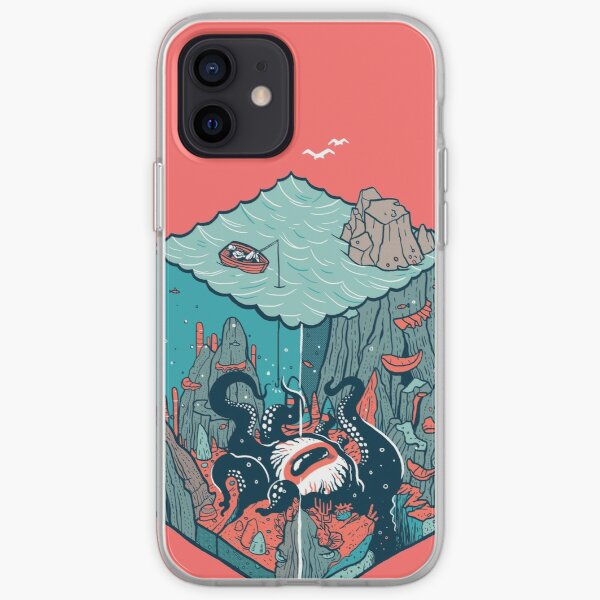 deep down at the bottom of the bottle iPhone Soft Case