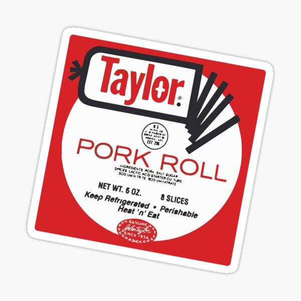 Baesic Taylor Brand Pork Roll Sticker