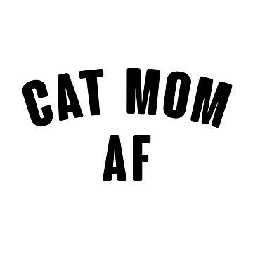Katze Mom Af von kjanedesigns